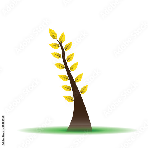 Fototapeta Abstract tree obraz na płótnie
