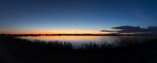 渡良瀬遊水池 夕暮れ