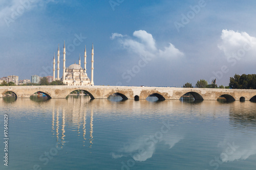 Adana Stone Bridge Wallpaper Mural