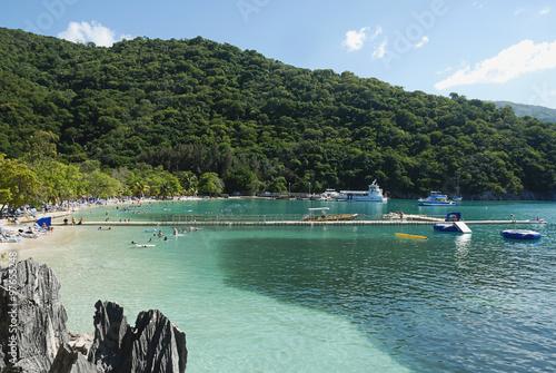 Cuadros en Lienzo Bay in Labadee island Haiti