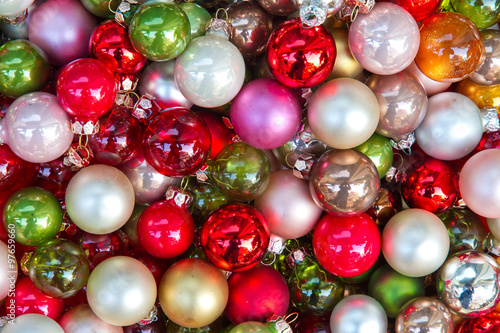 Bunte Christbaumkugeln Shop.Frohlich Bunte Christbaumkugeln Buy This Stock Photo And