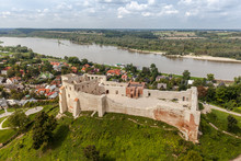 View Of The Old Town Of Kazimierz Dolny On The Vistula