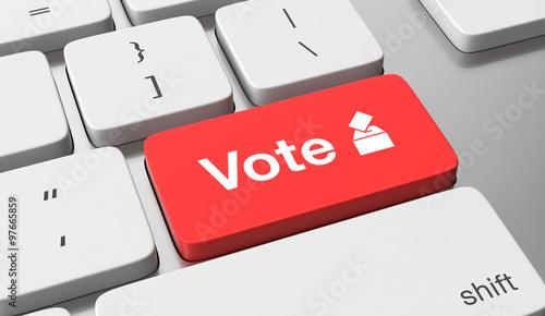 Fotografie, Obraz  Vote online