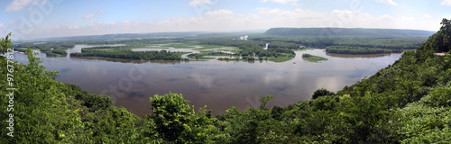 Poster Rivier Mississippi River Overlook