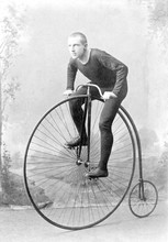 Vintage Portrait Cyclist Willi...