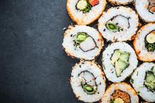 California Sushi Style Rolls, ...