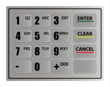 Realistic ATM Keypad