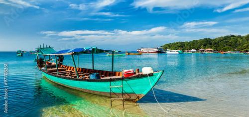 Foto  Boats in Sihanoukville