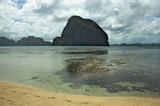 Fototapeta Fototapety do akwarium - magiczna góra, Filipiny, morski krajobraz, morze, egzotyczna wyspa