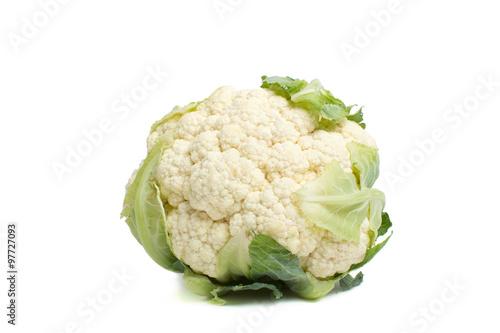 Fotografie, Obraz  Cauliflower isolated.