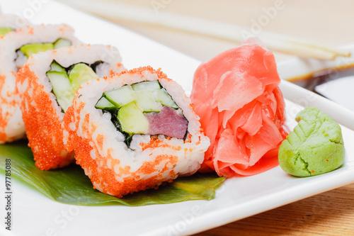 California roll, sushi #97785088