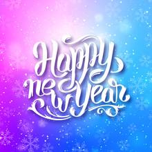 Happy New Year 2016 Vector Gre...