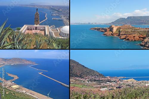 Fotobehang Algerije Oran et Mers el Kebir