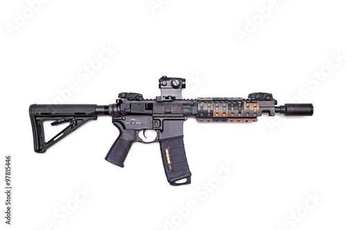 """Fotografía  Encargo de la estructura 9 """"rifle AR-15"""