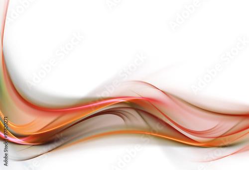 Photo sur Toile Fractal waves Elegant background for your awesome ideas.