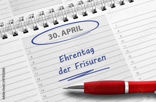Fotografie, Obraz  Notiz: Ehrentag der Frisuren