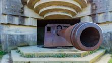 World War Ll Cannon, Normandy, France
