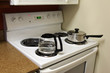 Cooking on the electric stove top
