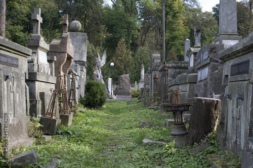 Keuken foto achterwand Begraafplaats Lychakiv Cemetery