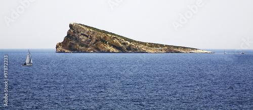 Island in Benidorm. Spain