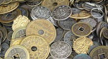 Old Chinese Coins And Money