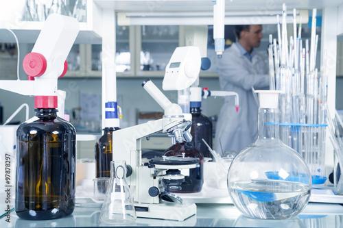 Fotografía  Laboratory Microscope