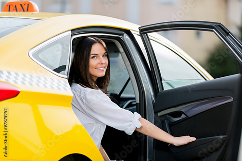 Fotografie, Obraz  Usmívající se žena