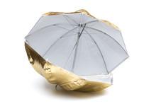 Umbrella On The White Background