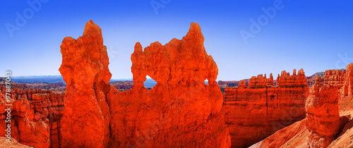 Keuken foto achterwand Rood traf. The Bryce Canyon National Park, Utah, United States, panoramic view