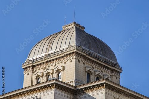 Cupola del Tempio Maggiore, sinagoga di Roma Wallpaper Mural