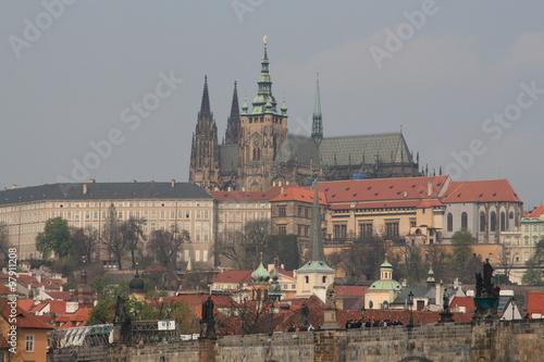 Acrylic Prints Prague The view of Prague, Czech Republic, 2010