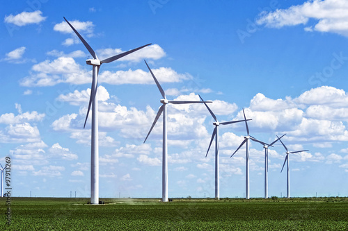 Fotografie, Obraz  Wind Farm