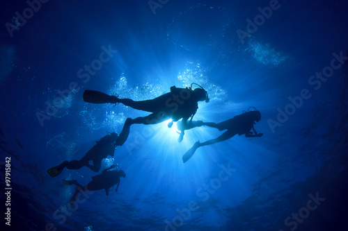 Photo Stands Diving Scuba diving