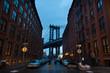 Manhattan Bridge, New York City, USA.