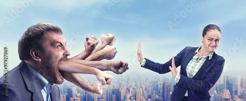 Fotografía  Businesspeople arguing