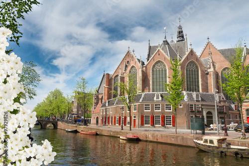 Photo  Oude Kerk, Amsterdam, Holland