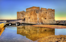 HDR Image Of Paphos Castle - Cyprus