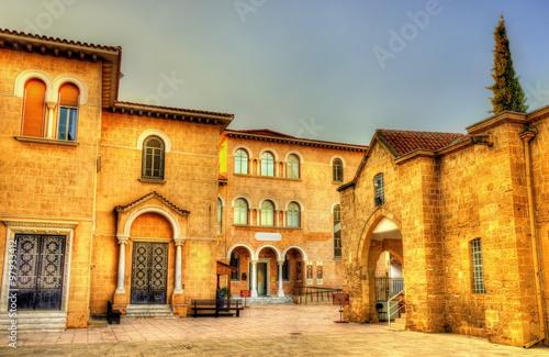 Byzantine Museum and Archbishop Palace in Nicosia - Cyprus Fototapet