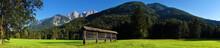 Alpine Scene Near Kranjska Gor...