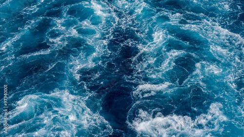 Montage in der Fensternische See / Meer sillage en mer