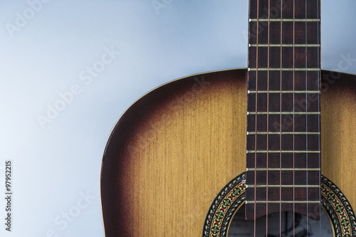 Fotografering  musical instrument - guitar