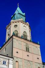 Trynitarska Tower Near John Baptist Cathedral. Lublin, Poland.