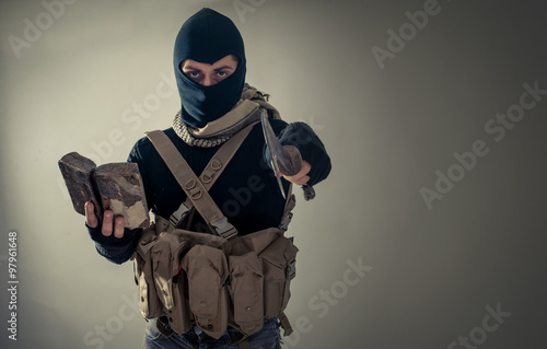 Fotografía  Amenaza del terrorismo
