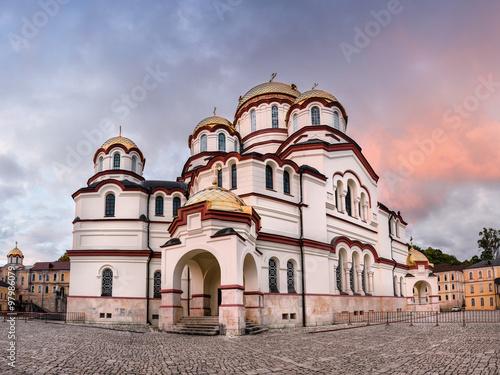 Valokuva  Abkhazia New Athos Monastery