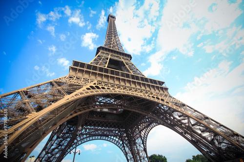 Fototapeta Eiffel tower, Paris obraz na płótnie
