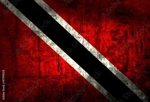 Fototapety, obrazy: Grunge Trinidad and Tobago Flag