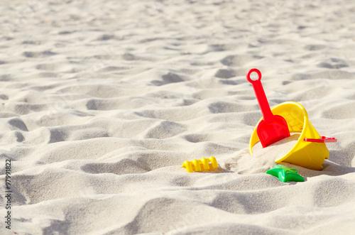 Photo  Toys on the sand