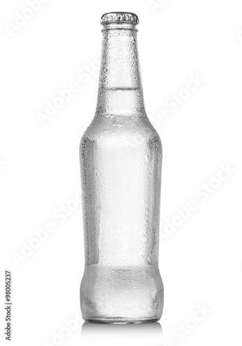 Fotografia  soda bottle with drops