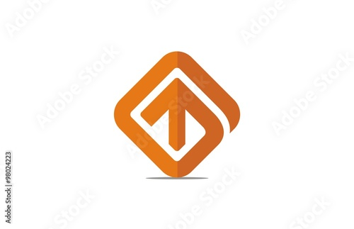 Abstract Square Up Logo Buy This Stock Vector And Explore Similar