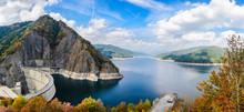 Vidraru Dam, Carpathian Mountains, Romania